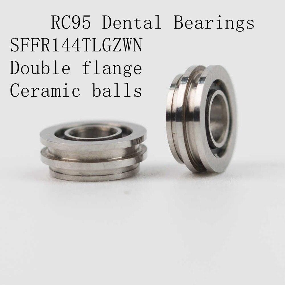 10pcs High speed Handpiece Dental Turbine Bearings  SFFR144TLGZWN for RC95/TE-95 BC model